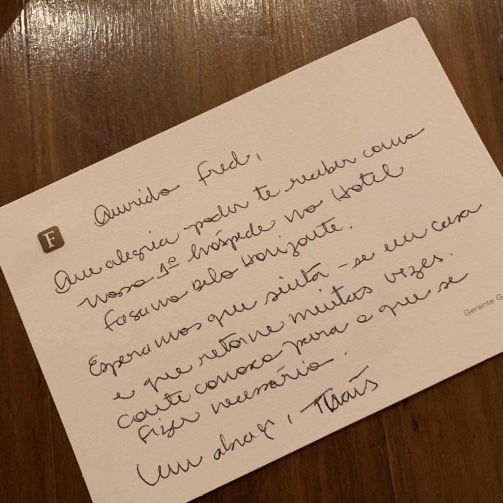 Hotel Fasano FredTour - Recepção